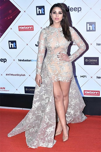 Parineeti Chopra in Cocktail Gown