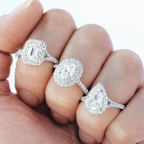 Engagement Ring On Pinterest