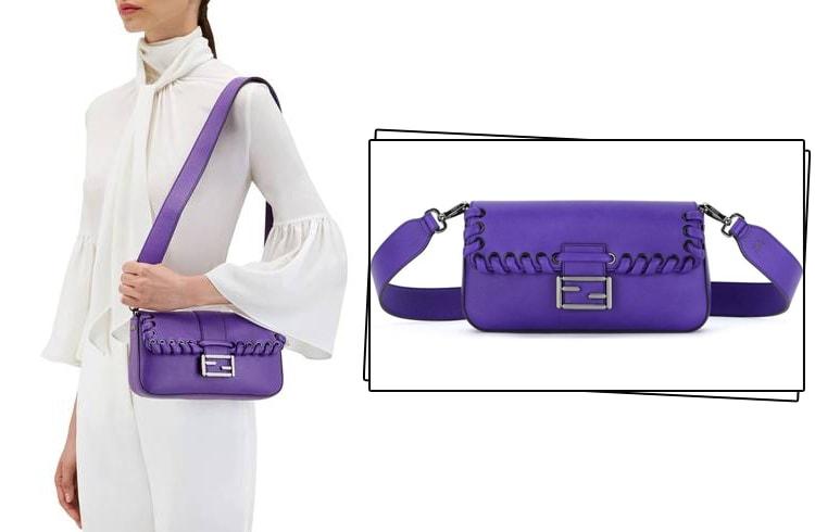 Purple Sling Bags