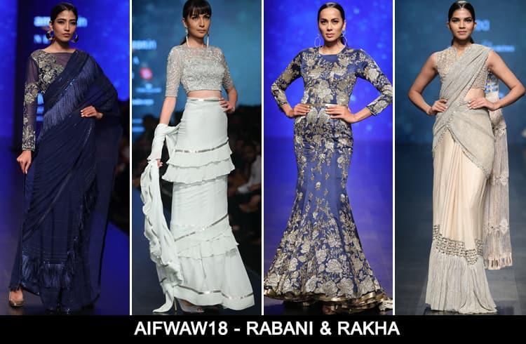 Rabani Rakha at AIFWAW 2018