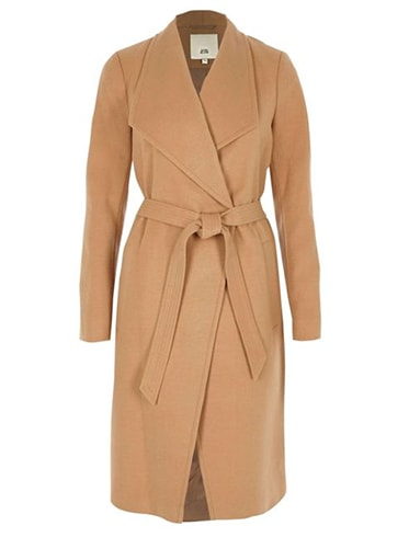 River Island Camel Coat