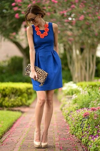 What Color Shoes To Wear With A Royal Blue Dress