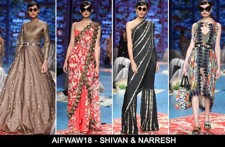 Shivan Narresh at AIFWAW 2018