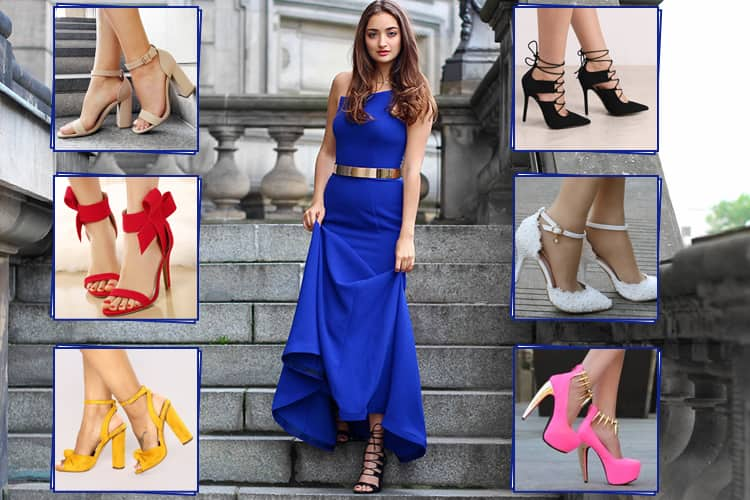 88f83a172218 What Color Shoes To Wear With A Royal Blue Dress .