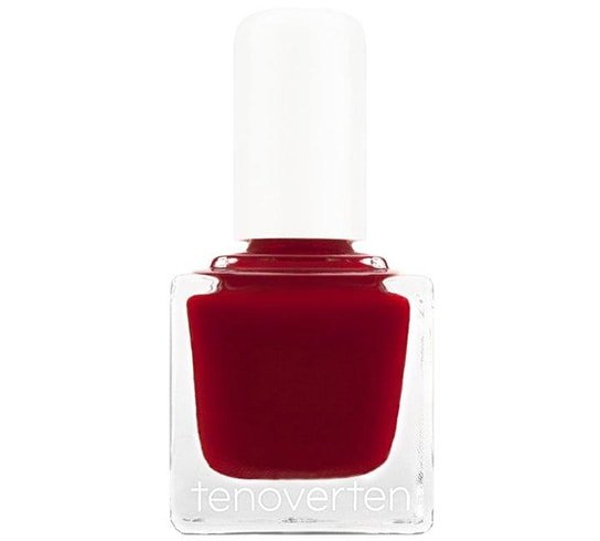 Tenoverten Hollywood Red Nail Polish