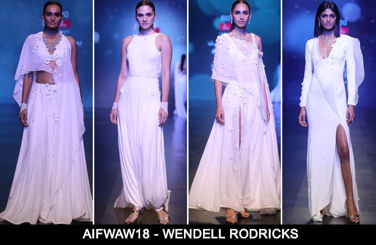 Wendell Rodricks at AIFWAW 2018