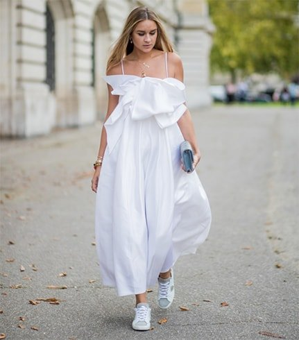White Dress On The Streets