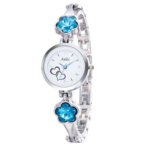 Addic Analogue White Dial Girls Watch