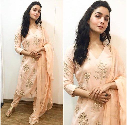 Alia Bhatt in Salwar Fashion