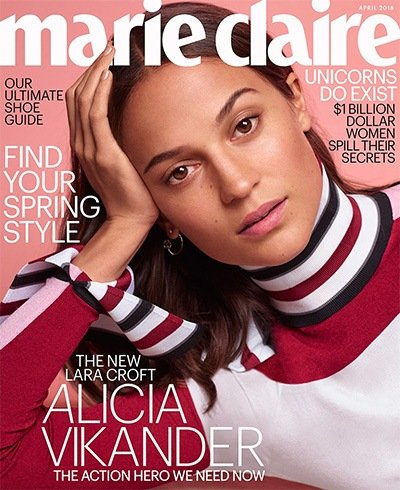 Alicia Vikander for Marie Claire US