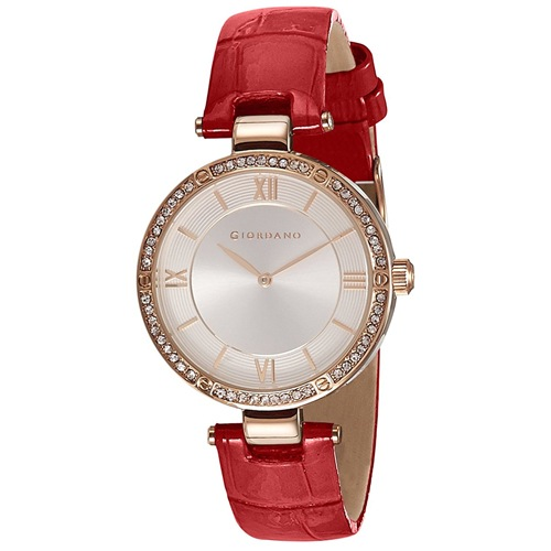 Analog Silver Dial Womens Watch
