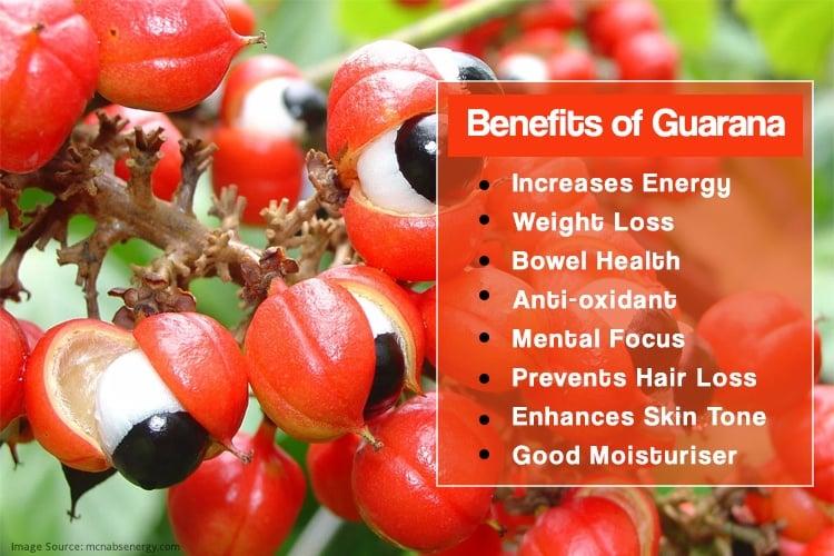 Health Benefits Of Guarana