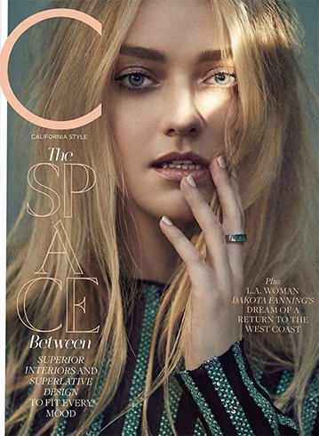 Dakota Fanning for C Magazine