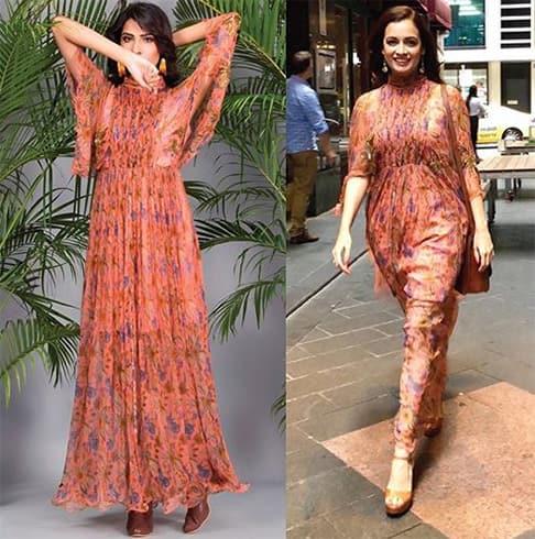 Dia Mirza maxi dress