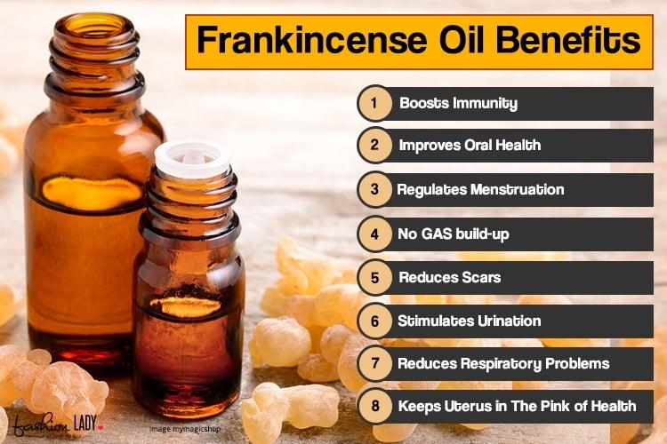 Frankincense oil benefits