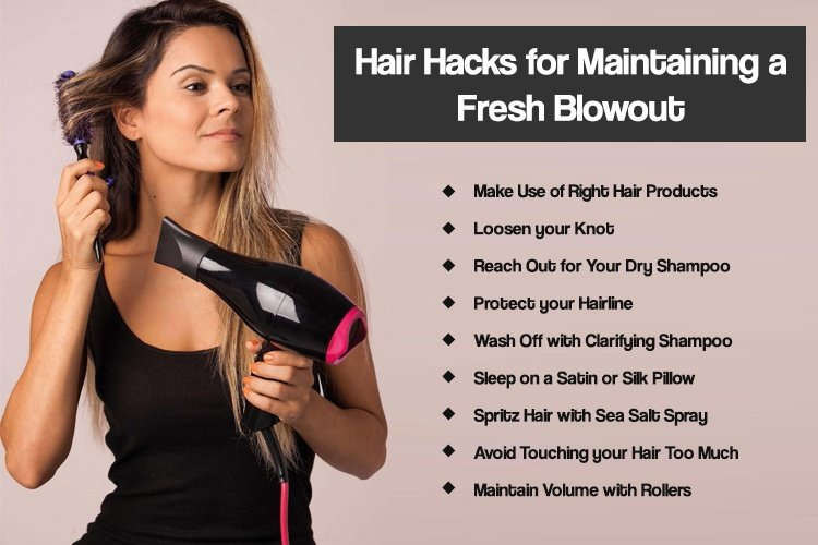 Hair Hacks for Fresh Blowout
