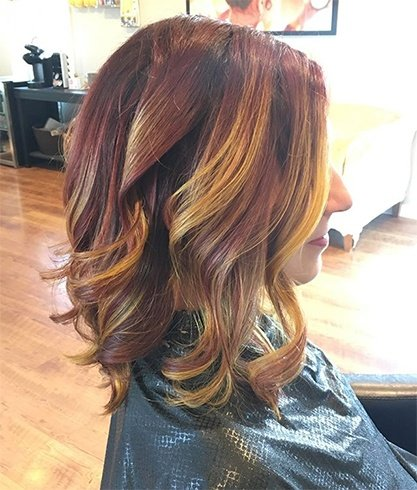 Harry potter hair color trend