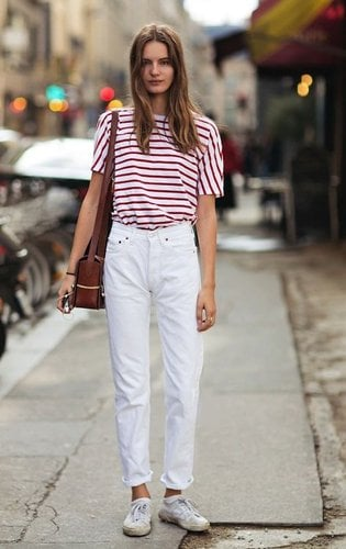 How to wear jeans in the summer fashion