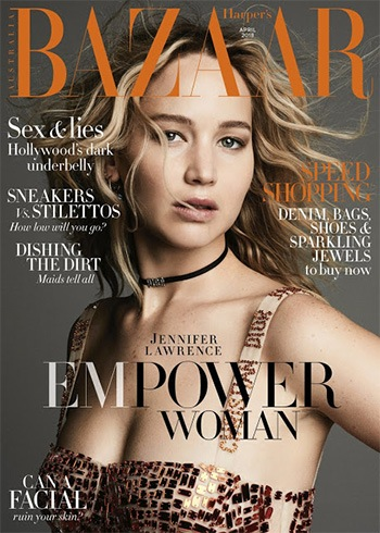 Jennifer Lawrence for Harper's Bazaar Australia