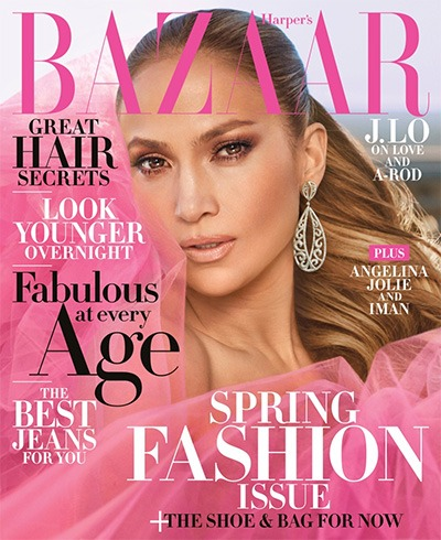 Jennifer Lopez for Harper's Bazaar the US