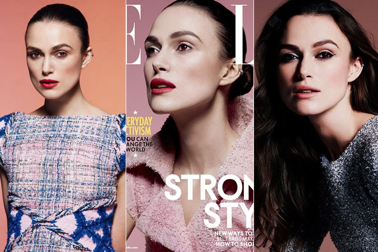 Keira Knightley for Elle Canada Magazines