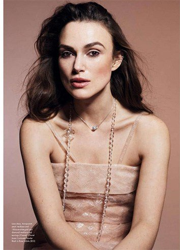 Keira Knightley for Elle Canada