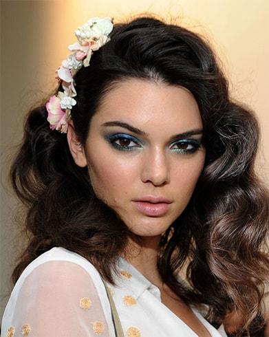 Kendall Jenner Mermaid Eyeshadow