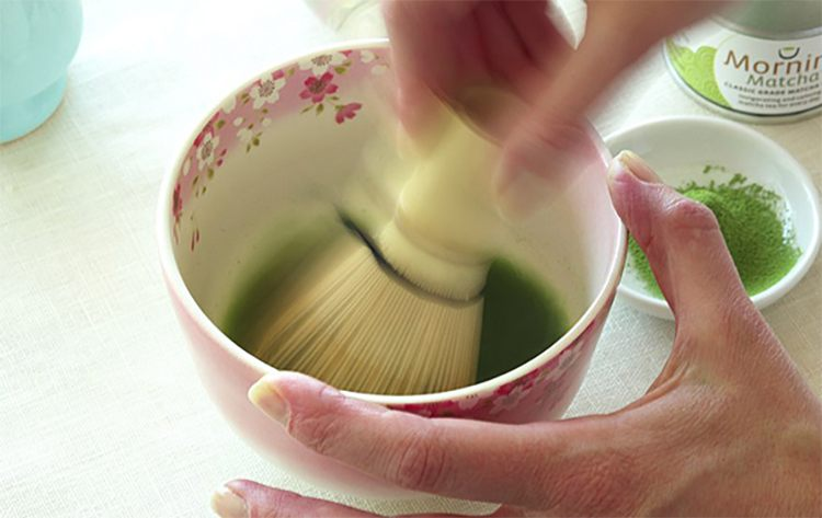 Making Matcha Green Tea