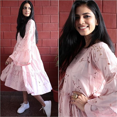 Malavika Mohanan dress from I Love Pero
