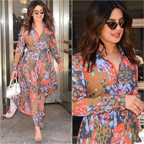 Priyanka Chopra Easy Breezy Gown