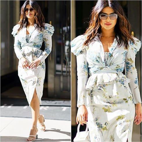 Priyanka Chopra Floral Outfit