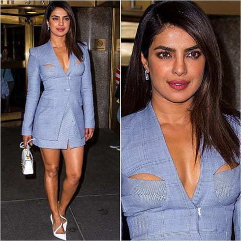 Priyanka Chopra In Dion Lee Outfit