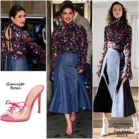Priyanka Chopra Skirt Style