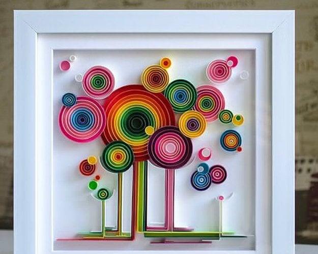 Top Paper Quilling Designs, um Ihr Zuhause zu dekorieren