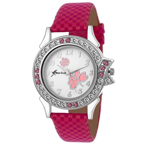 Rich Club Analogue White Dail Womens Watch