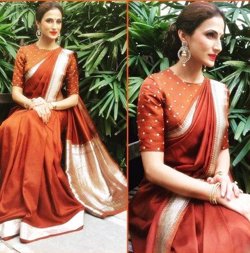 Shilpa Reddy Kanjeevaram sarees