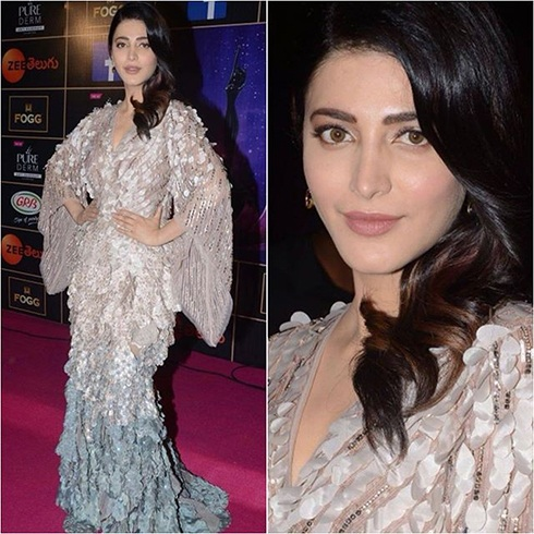Shruti Hassan At Zee Apsara Awards
