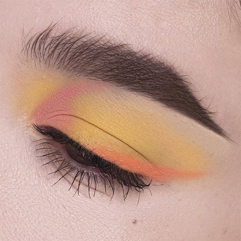 Sunset Eye Makeup