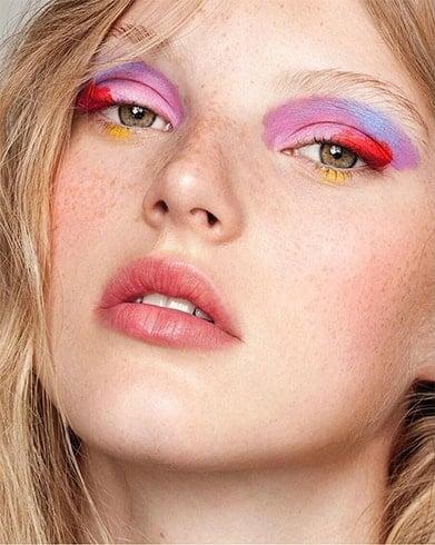 Watercolor Eye Makeup