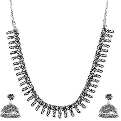Antique Oxidized Siver Necklace