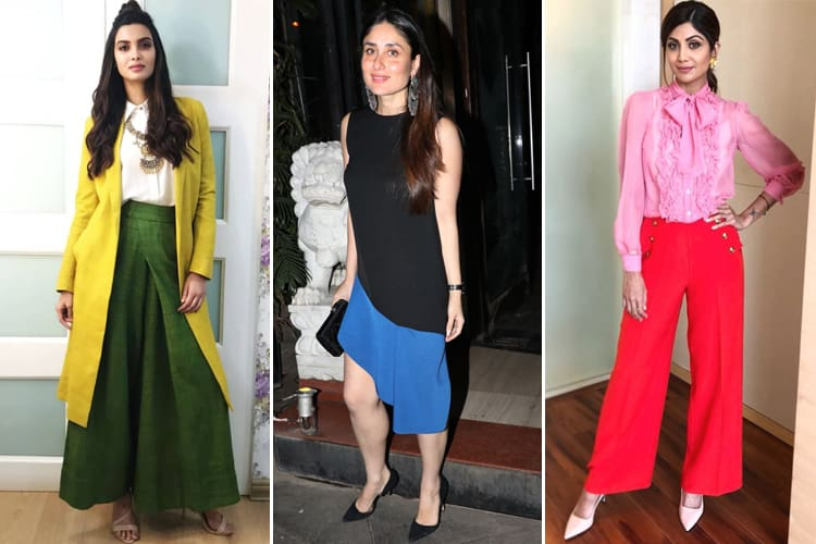 Bollywood Color-blocking Fashion