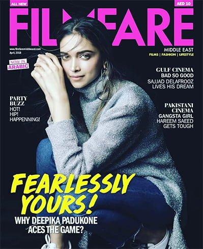 Deepika Padukone on Filmfare Middle East