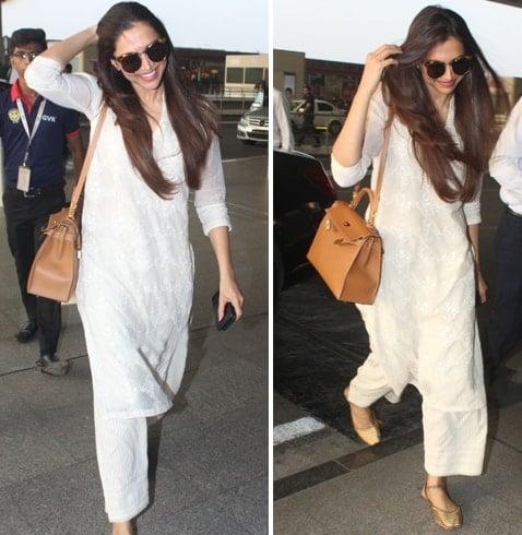 Deepika Padukone Hermes Bag