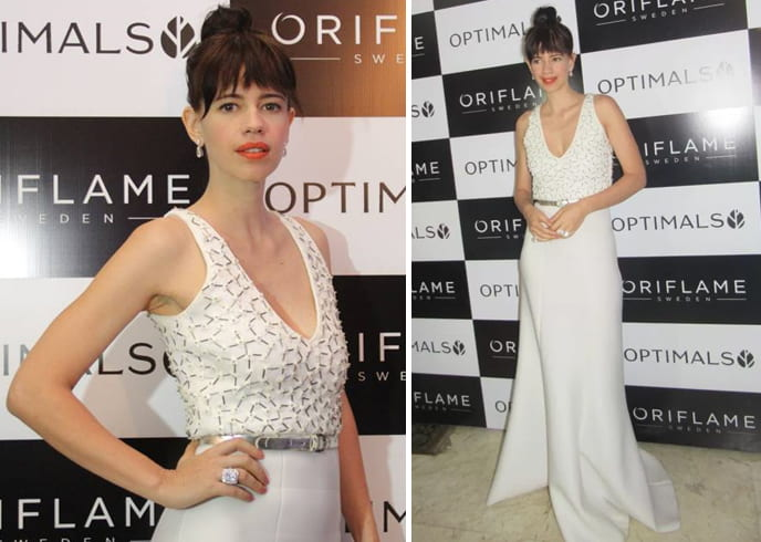 Kalki Koechlin at Oriflame event
