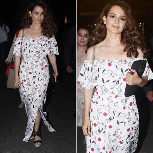 Kangana Ranaut in maxi dress
