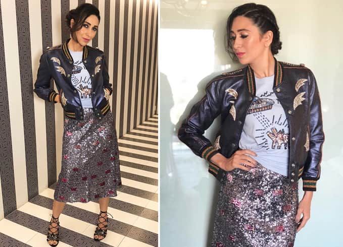 Karisma Kapoor at Coach store
