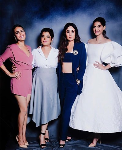 Ladies at Veere Di Wedding Trailer Launch