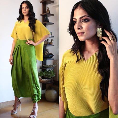 Malavika Mohanan in Payal Khandwala