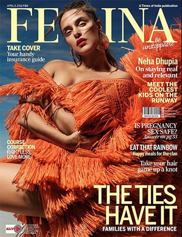 Neha Dhupia on Femina