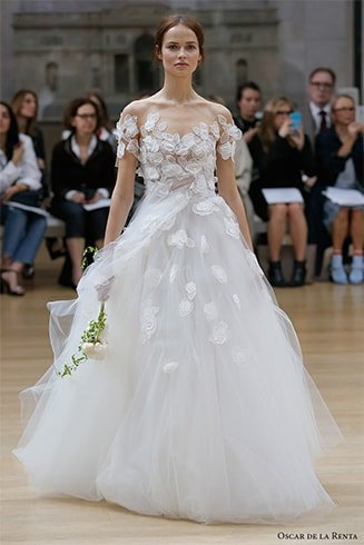 Oscar de la Renta Bridal Dress